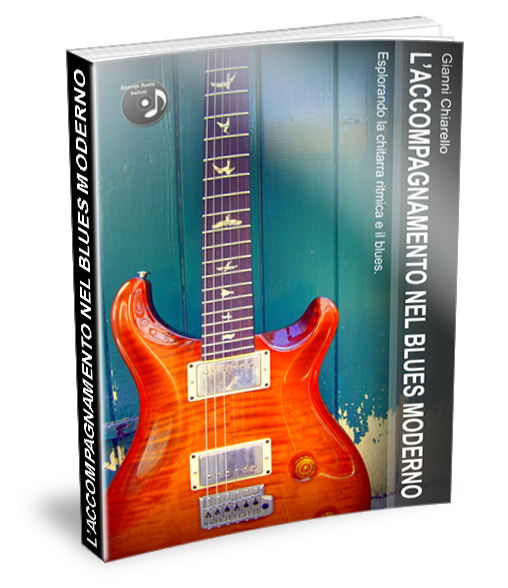 CONT BLUES CHORDS AND COMPING ITALIANO LIBRO